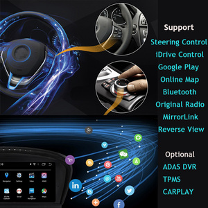 Image 3 - Android 10,E60 Android, odtwarzacz multimedialny dla BMW serii 5, E60 E61 E63 E64 E90 E91 E92,525 530,CCC CIC,iDrive, uchwyt na aparat 720P
