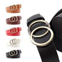 Women's Belt Jeans Fashion Design Women's Gold Belt Leather