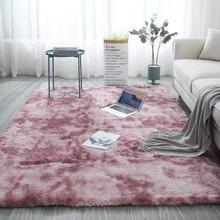 Moderne-tapis abstrait en peluche H99F | Tapis en peluche, décoration pour chambre à coucher, salon