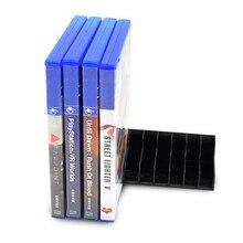 Para ps4/magro/pro magro jogo cartão caixa de armazenamento suporte de cartão base discos cartão titular coleção