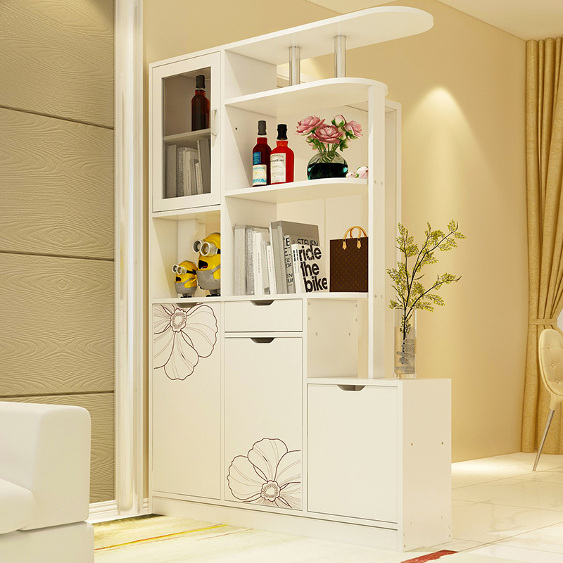 Simple Living Room Entrance Cabinet Hall Cabinet Wine Cabinet Partition Shoe Wine Rack Decoration Cabinet Screen Cabinet