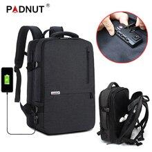 купить Anti Theft Backpack Women Men Laptop Bagpack 17 15.6 Notebook Mochila Smart Backpacks USB Charger Back Pack Travel School Bag по цене 1888.15 рублей
