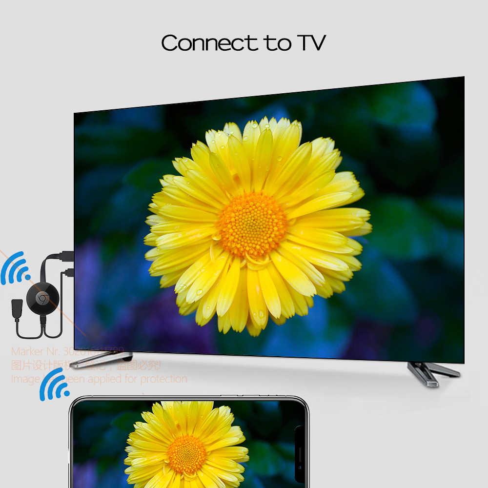 TORA DOLA Wireless HD Dongle, projektor połączenia pomocniczego. TV. Monitor (wejście HD), bezprzewodowy ten sam ekran, ten sam ekran telefonu, komputer