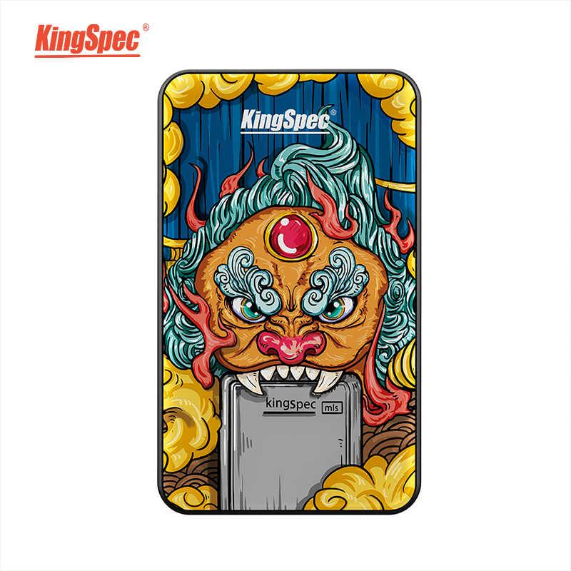 KingSpec disque dur externe SSD 120 go SSD 240 go 500 go Portable disque dur externe SSD 1 to hdd pour ordinateur Portable avec Type C USB 3.1