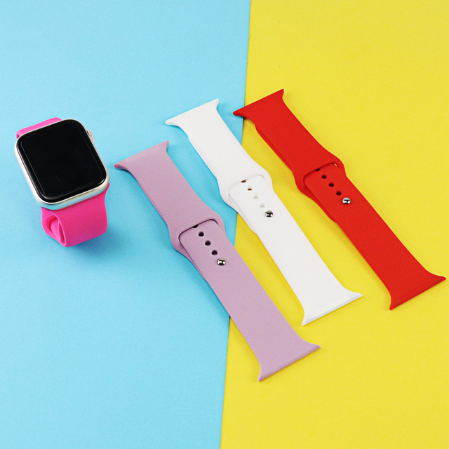 Multi Silicone Band for Apple Watch 3
