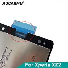 FILTER-NET Aocarmo for Sony Xperia Xz2/H8216/H8266/.. Earpiece-Top Dust-Mesh Ear-Speaker