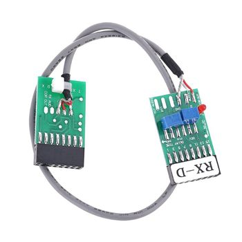 Radio Repeater Connector Cable TX-RX Time Delay for Motorola GM300 GM338 GM3188