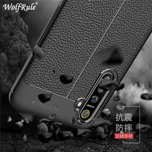 Case Realme XT Phone Cover Shockproof Luxury Leather Soft TPU Case For