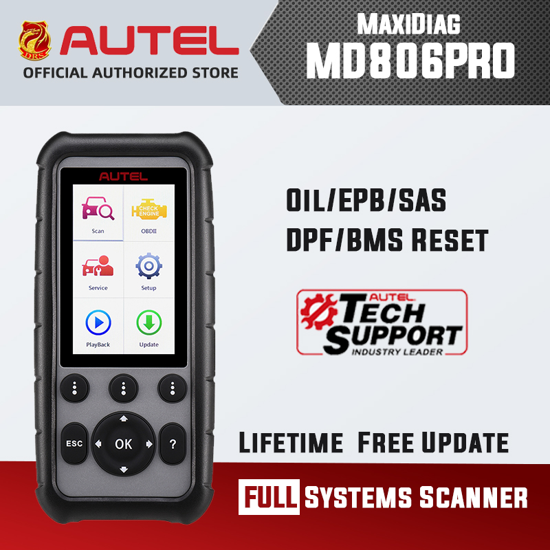 Autel MD806 Pro OBD2 Scanner Upgraded Version of MD806 MD808 MD802 MD805 All System Diagnostic Tool Atomotive Diagnostic Scanner|Code Readers & Scan Tools| - AliExpress