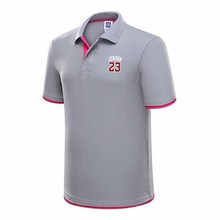 fashion gradient Polo shirt mens brand clothing new summer high quality 100% cotton