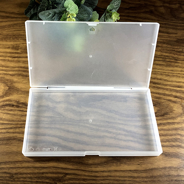 Frosted Plastic Box Mask Packaging Box Component Storage Box For Mouth Face N95 Masks Storage Box 1