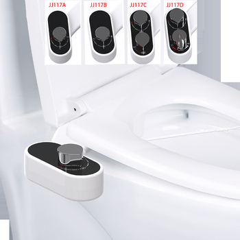 Non-Electric Bidet Toilet Seat Bidet Attachment Self-Cleaning Nozzle-Fresh Water Bidet Sprayer Mechanical Muslim Shattaf Washing non electric bidet toilet attachment fresh water mechanical sprayer ass washer implement simple clean body irrigador orr