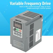 VFD Inverter 1.5KW Frequency Converter Three-Phase Variable Frequency Drive PWM Control AC 380V Domestic Delivery vfd coolclassic inverter converter 380v 7 5kw inverter three phase power warranty 18 month