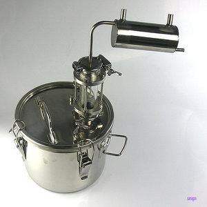 Image 2 - Moonshine distiller 10 ลิตรบ้าน Brewery destilador cerveza Spirit วิสกี้วอดก้า cidre กลั่น Cooler บาร์เบียร์
