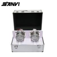 Sanvi High Quality Auto Lighting Tester Portable LED Demo Case Box Mobile Custom Display Test Kit For LED/Xenon/Halogen Bulbs