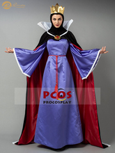 Snow White and the Seven Dwarfs costumes Snow White stepmother silk & pleuche the evil queen classical cosplay costume mp004178 the snow queen