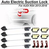 CARBAR Smart Auto Elektrische Saug Türschloss für Audi RS4 2013-2016 Automatische Soft-Close Tür Super Stille Auto fahrzeug Tür