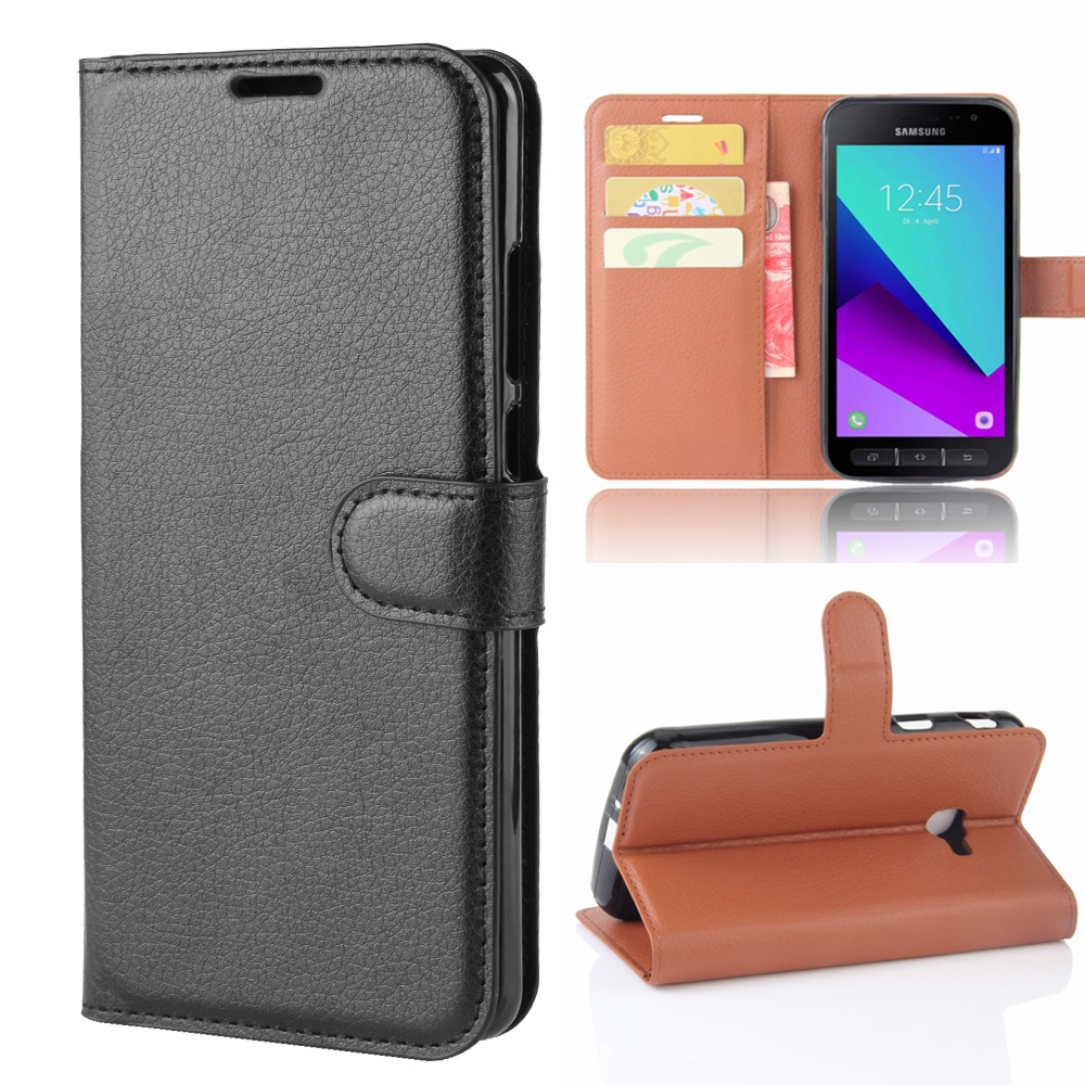 Чехол-бумажник с держателем для карт, чехол для телефона Samsung Galaxy Xcover 4 4s G390F G398F XCover4, защитный чехол из искусственной кожи