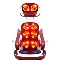 التدفئة الكهربائية العجن تدليك كرسي الأشعة تحت الحمراء العلاج الطبيعي الرقبة وسادة الظهر تدليك الاسترخاء وسادة مقعد هزاز