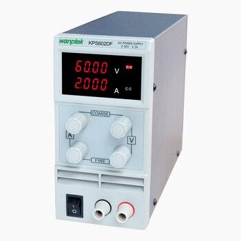 цена на KPS602DF Adjustable High precision double LED display switch DC Power Supply protection function 60V2A 110V-230V 0.1V/0.001A EU