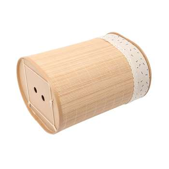 Household Bamboo Laundry Basket Clothes Toy Storage Folding Hamper Sorter Bin Organizer Laundry Hamper Bucket Collapsible Box 5