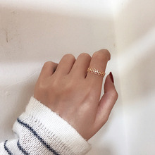 Bohemian Vintage Matt Rings Openwork Leaves For Women Fashion Statement Jewelry Finger Ring Girls Gifts Couple Rings bohemian leaves circle finger ring