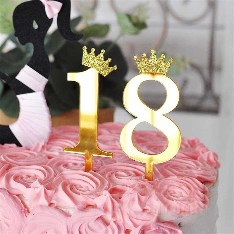 Miraculous Number 0 9 Cake Topper Birthday Anniversary Wedding Party Digit Funny Birthday Cards Online Inifofree Goldxyz
