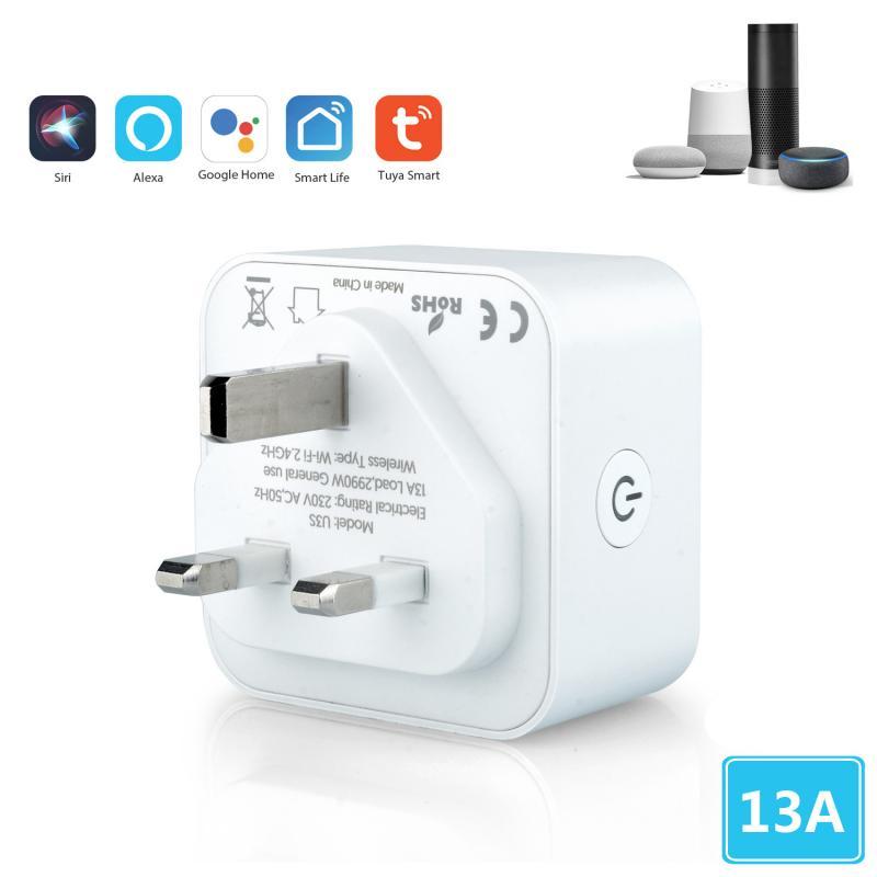 Smart Plug WiFi Socket Power Socket Outlet Switch Amazon Alexa/Google Home 2019^