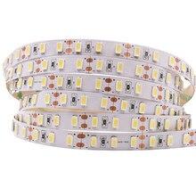 Tira de luces Led superbrillante, cinta Flexible de 5M 5630 5730 12V DC 90LED/m 450 Piexl, blanco frío/blanco cálido/blanco Natural