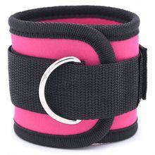Регулируемый ремешок на лодыжке с d-образным кольцом, с пряжкой, для бодибилдинга, для спортзала, мульти, бедра, ноги, лодыжки, манжеты, силовая атлетика, фитнес