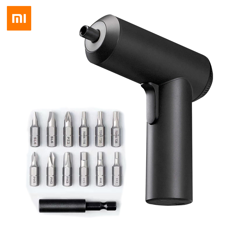Xiaomi Power Tools Mini Electric Cordless Screwdriver Drill Impact Driver Wowstick Screw Driver Power Screwdriver 3.6v Li-ion 5n