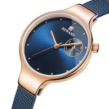 Reward Watch Women Quartz Watches Ladies Top Brand Chic Luxury Female Stainless steel Mesh Wrist Watch Girl Clock Relogio Femin