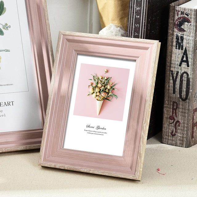 Beautiful Nordic Picture Frame Color: F Size: 6 inch