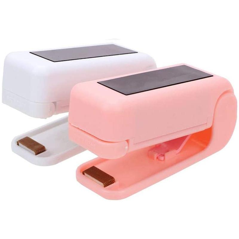 Heat Bag Sealer, Plastic Bag Sealer Mini Heat Sealer Machine for Food Saver Storage Snack Fresh Handheld (2 PACK)