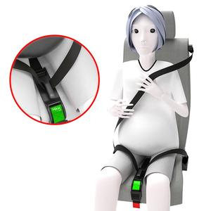 Car seat belt adjuster for pregnancy driving confort and safety pregnant car accessories Protect Unborn Baby, Maternity Mom Bell(China)