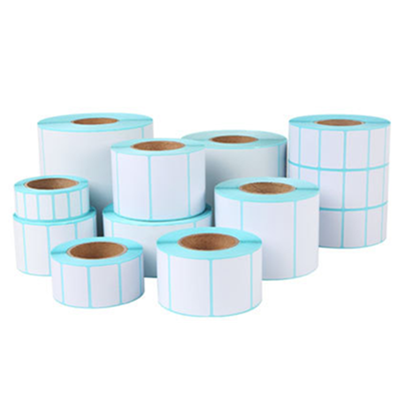 Hot Sale 700pcs/Roll Adhesive Thermal Label Sticker Paper Supermarket Price Blank Label Direct Print Waterproof Print Supplies