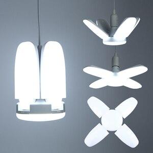 LED Bulb E27 Foldable Fan Blad