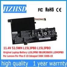 114 v 525wh l15l3pb0 оригинальный ноутбук батарея 5b10r38659