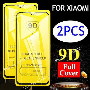 2 sztuk partia 9D zakrzywione pełne szkło ochronne Film Redmi 8 7 7A 6 6A uwaga 8 Pro Protector dla Xiaomi Mi POCO X3 9 Lite szkło hartowane tanie i dobre opinie DREAMYSOW TEMPERED GLASS CN (pochodzenie) Przedni Film