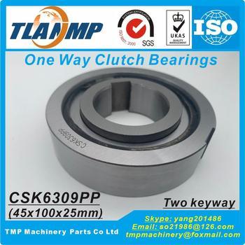 CSK6309 CSK6309P CSK6309PP One Way Clutches Sprag Type (45x100x25mm) One Way Bearings Freewheel Type Backstop Clutch