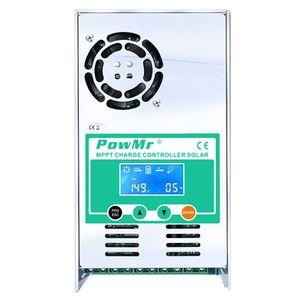 Powmr Mppt 60A Контроллер заряда и разряда 12 В 24 в 36 в 48 в авто для Max 190Vdc Pv вход вентилируемый герметичный гель Nicd Li