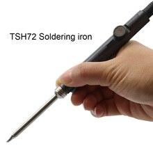 Estación de soldadura de hierro ajustable SH72, 65W, 24V, 220 400 ℃, DC5525, SH K, SH KU, SH D24, SH BC2, SH C4, juego de herramientas