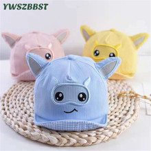 New Spring Autumn Thin Style Infant baby visor cap Shofar Baby Sun Hats Soft brim Girls Cap Kids Boys Sunscreen Caps