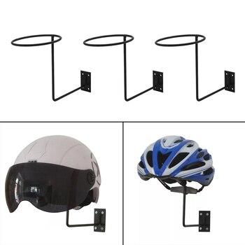 3 piezas montado en la pared de casco de Metal titular pescador vaquero sol Peluca de sombrero de estante-20cm