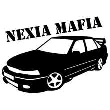Car Sticker for Daewoo Nexia Mafia Automobiles Motorcycles Exterior Accessories Vinyl Decals for Bmw Audi Ford,20cm*14.4cm недорого