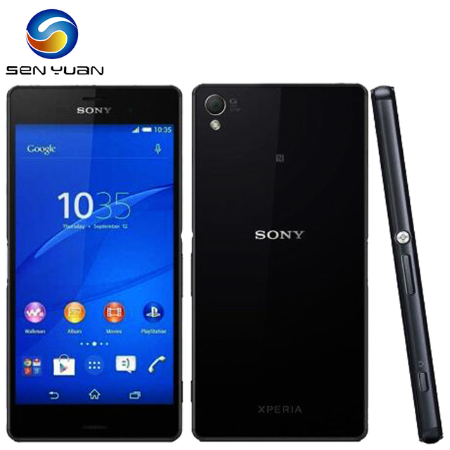 Original Sony Xperia Z3 Compact D5803 Unlocked 4G LTE Z3 mini Android Phone Quad-Core 4.6 inch 16GB WIFI GPS Mobile phone 1