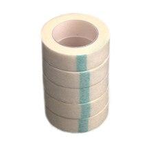 5 adet kirpik uzatma Lint nefes dokunmamış kumaş yapışkan bant tıbbi kağıt bant yanlış Lashes yama makyaj araçları