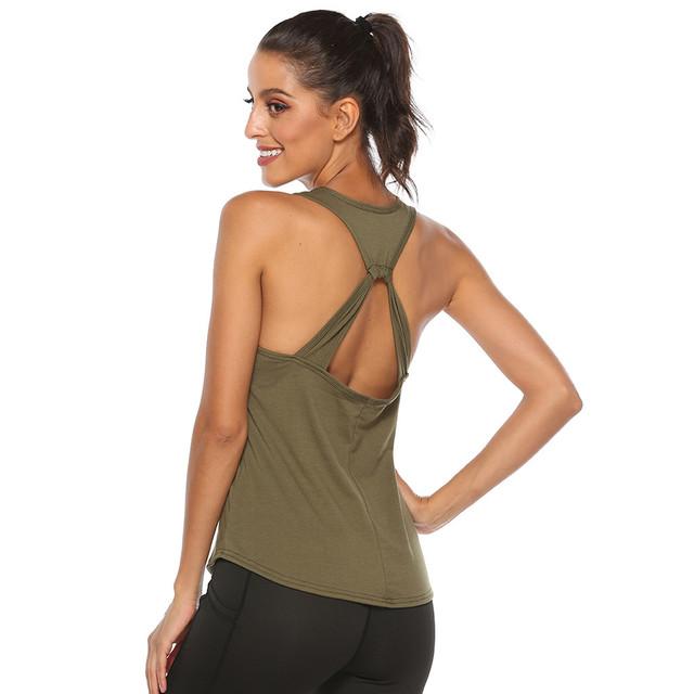 Fitness Sleeveless Tank Top