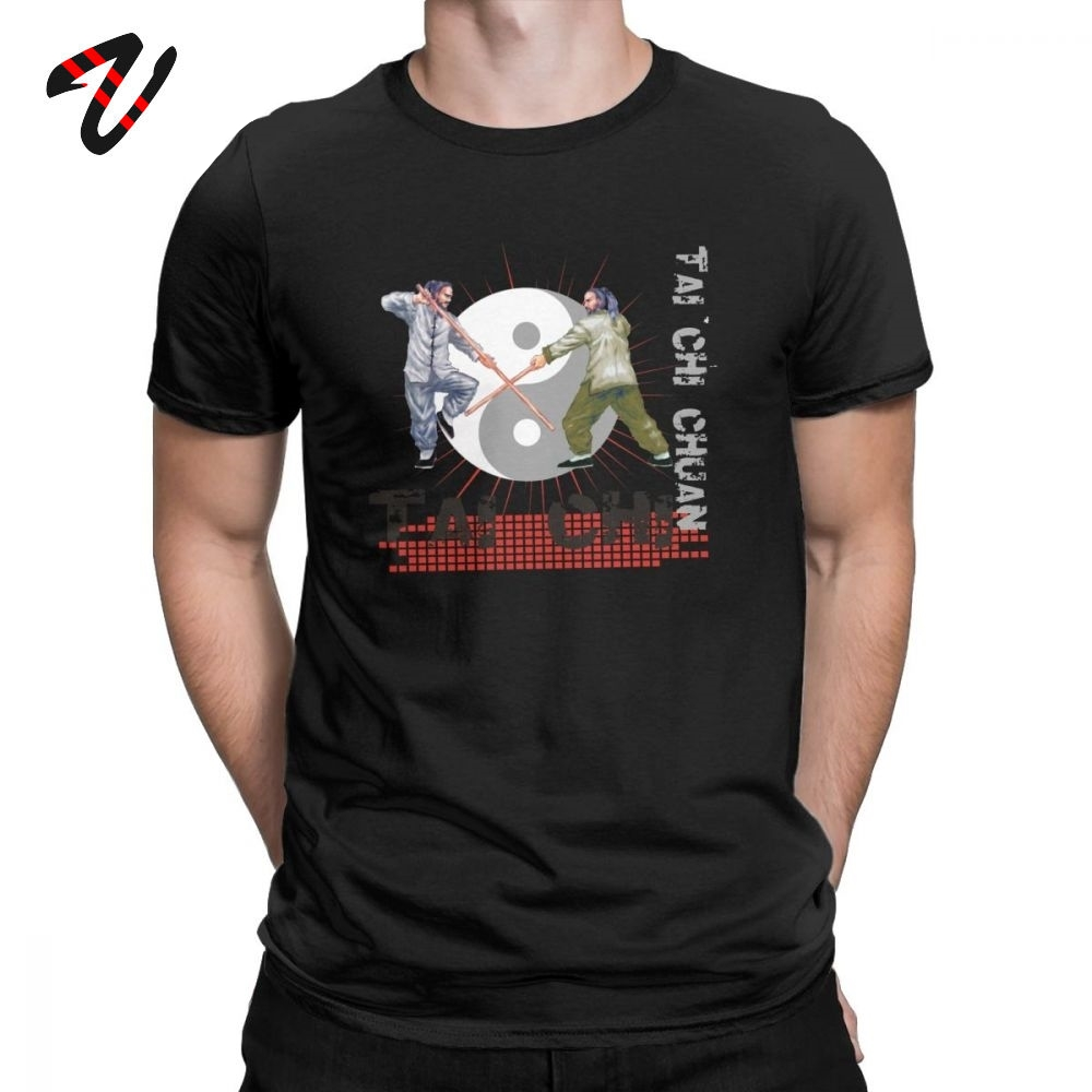 Китайские футболки тайчи Чуань, Мужская футболка новейшего дизайна из 100% хлопка, футболки в китайском стиле с коротким рукавом, лучшая идея для подарка, одежда на заказ Футболки    АлиЭкспресс
