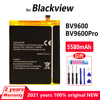 Original 5580mAh BV 9600 Phone battery For Blackview BV9600/ BV9600 Pro Genuine Replacement Batteries Bateria With Gift Tools